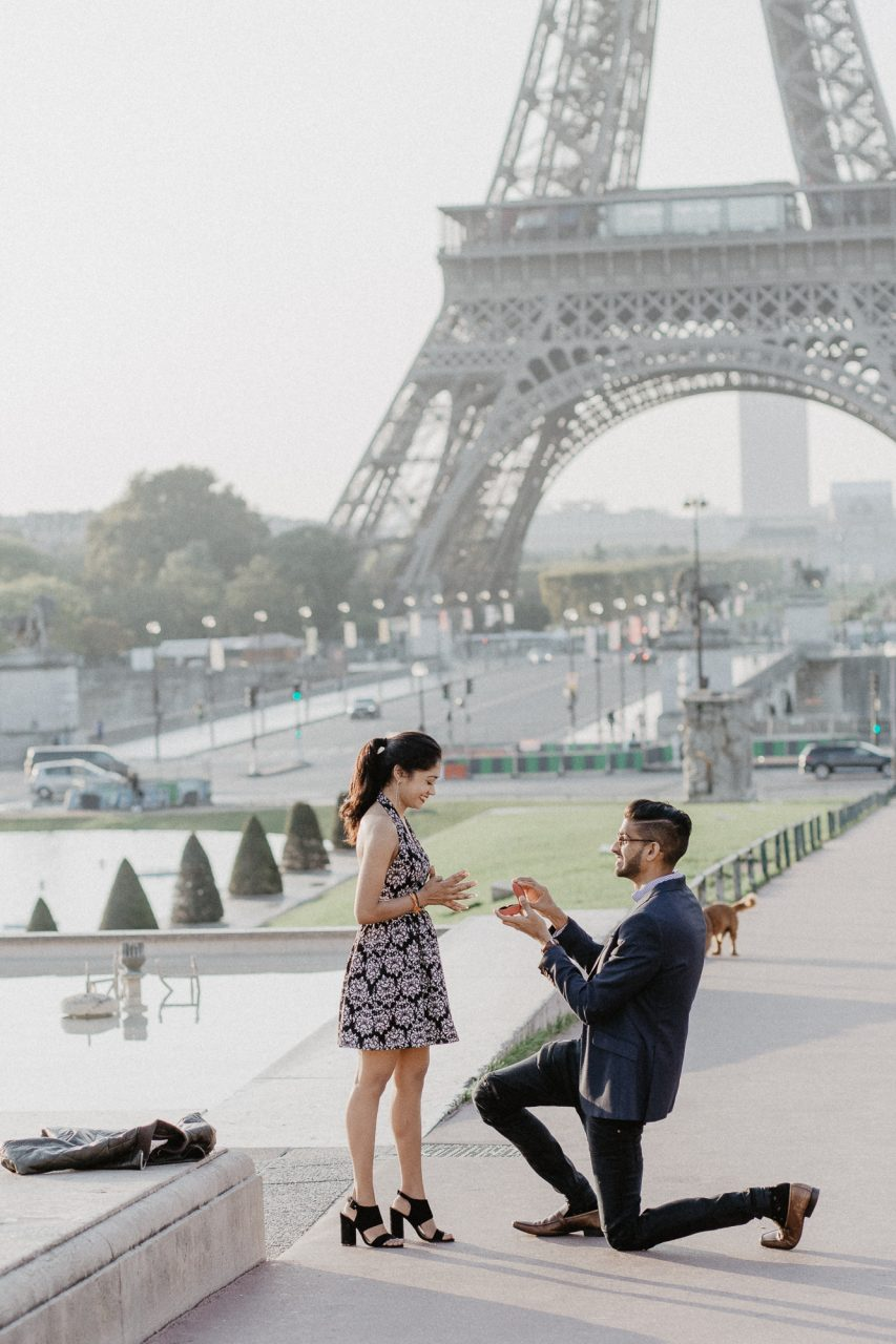 IMG_5155-853x1280 The Perfect Parisian Surprise Proposal Couples Weddings & Couples  chụp ảnh paris Couple Photography in Paris eiffel tower elopement photography paris engagement photography feature pre wedding paris surprise proposal surprise proposal paris Wedding Photographer in Paris