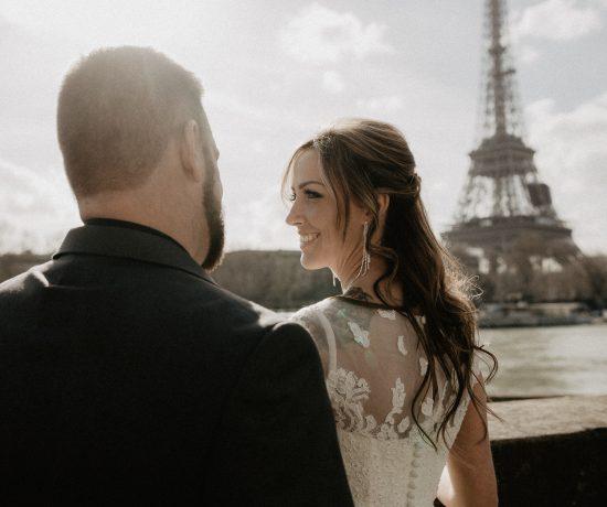 Elopement Eiffel tower Shangrila Paris photographer